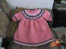 Babykleid Norwegerart